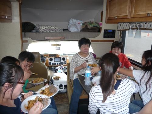 메모:캬~~이맛을 어찌잊으랴 ......양푼 비빔밥.....캠핑카 여행에 묘미죠.......