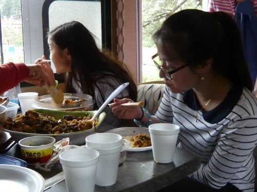 메모:콜로라도 산속에서의 비빔밥 캬~~~그맛은 직접타보지 안고는 알수업는맛........