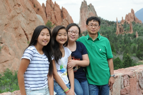 메모:캠핑카 여행 중 신들의 정원에서 예라네 가족.........