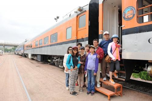 메모:캐년시티 로얄고지 열차